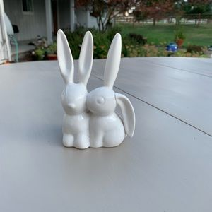 Mid century modern vintage bunny rabbit figurine